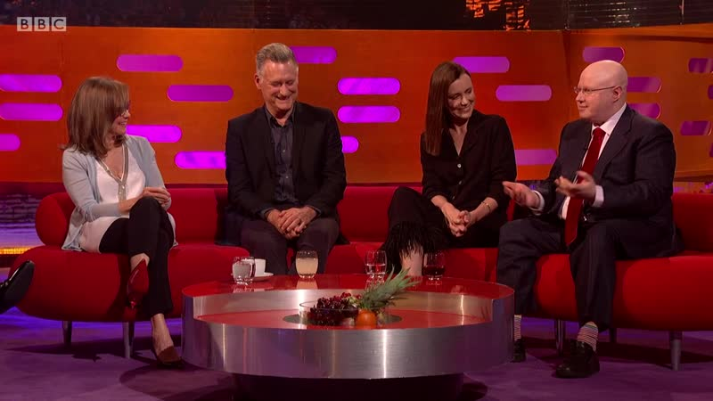 The Graham Norton Show 25x01 Sally Field Keeley Hawes Matt Lucas Bill Pullman The Lumineers