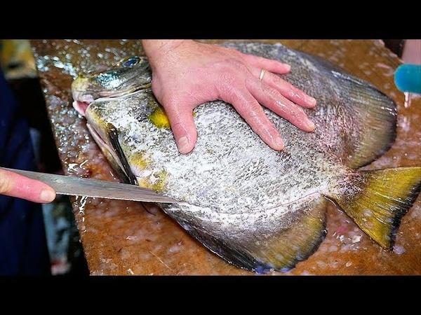 Japanese Street Food - BATFISH Fish Cutlet Okinawa Seafood Japan