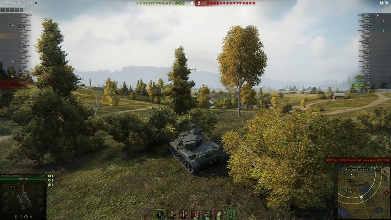 Type 61 Малиновка Встречный бой