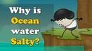 Why is Ocean water Salty? | aumsum kids ocean water salty