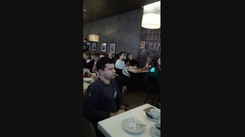 Бизнес завтрак 2ГИС первые дни в г.Ухта (ноябрь 2018)