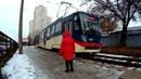 TimeLapse FrameLapse Скоростной Трамвай Трасса Люди Soocoo C50