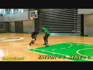 Kyrie Irving 1-on-1 against Jayson Tatum