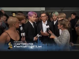 namjoon: there.. Could be a collaboration song And some joint songs.... we dont know jimin and seokjin: [stares directly at cam