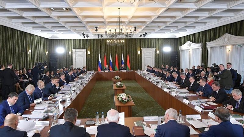 О Союзном государстве. Визит в Белоруссию