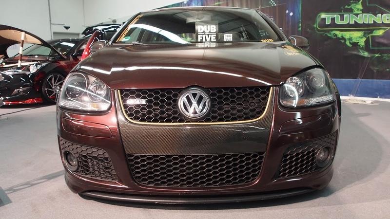Volkswagen Golf V GTI Tuning - brown bodykit breitbau DUB zero FIVE deep low