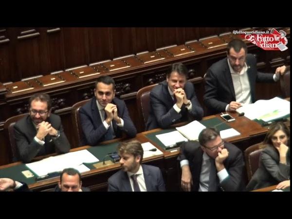 Anticorruzione, Salvini in Aula con Di Maio e Conte. Pd: Emendamento? Un teatrino