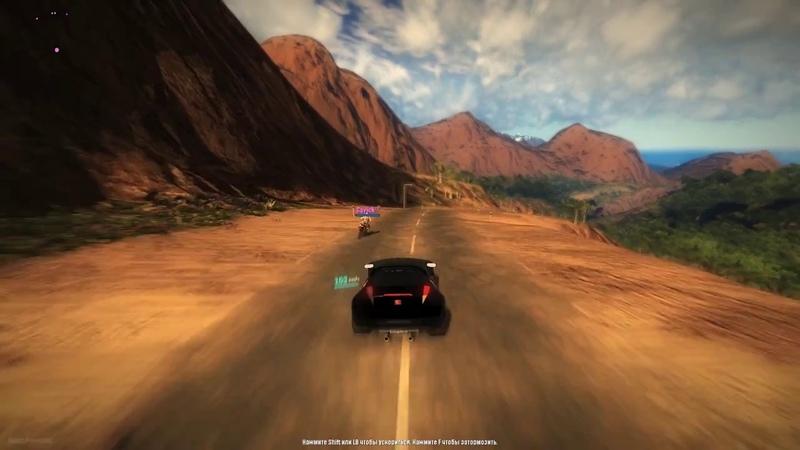 Преследую Кавика:D Накроманим в Just Cause 2 Multiplayer Mod