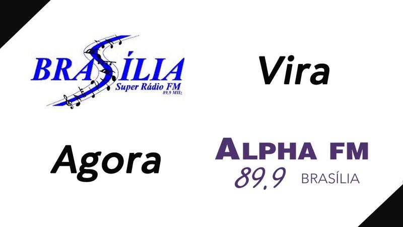 2018 Brasilia Super Rádio FM Agora é Alpha FM Brasilia 89.9MHz | Veja o Encerramento | 010518