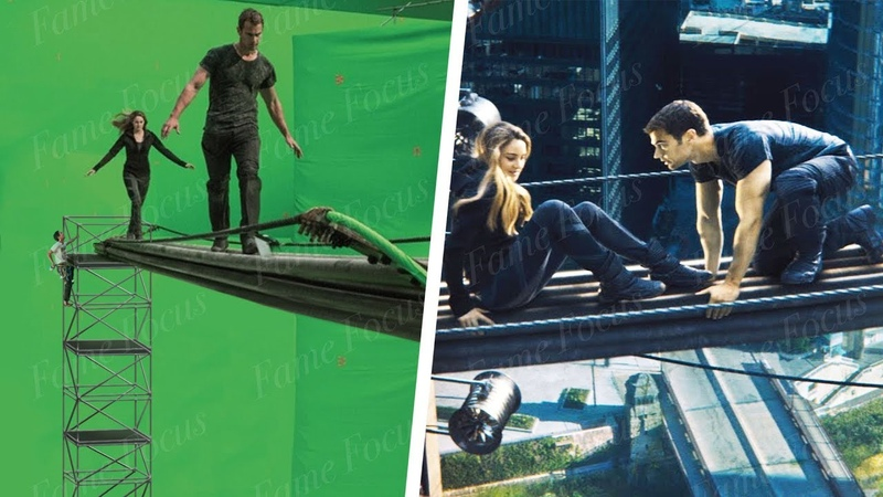 Amazing Before After Hollywood VFX: Divergent