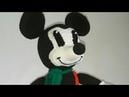 Вязаный Микки Маус крючком урок 1(голова)