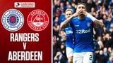 Rangers 2-0 Aberdeen Tavernier Penalties Seal 2nd Place For Gers Ladbrokes Premiership