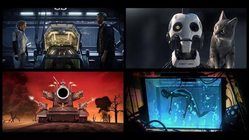 Любовь смерть и роботы 1 Сезон Тизер Трейлер 2019 Netflix