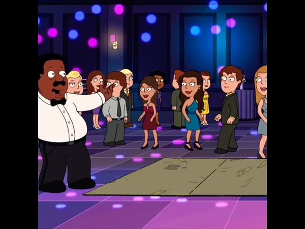 Family Guy Cleveland at a High School Prom