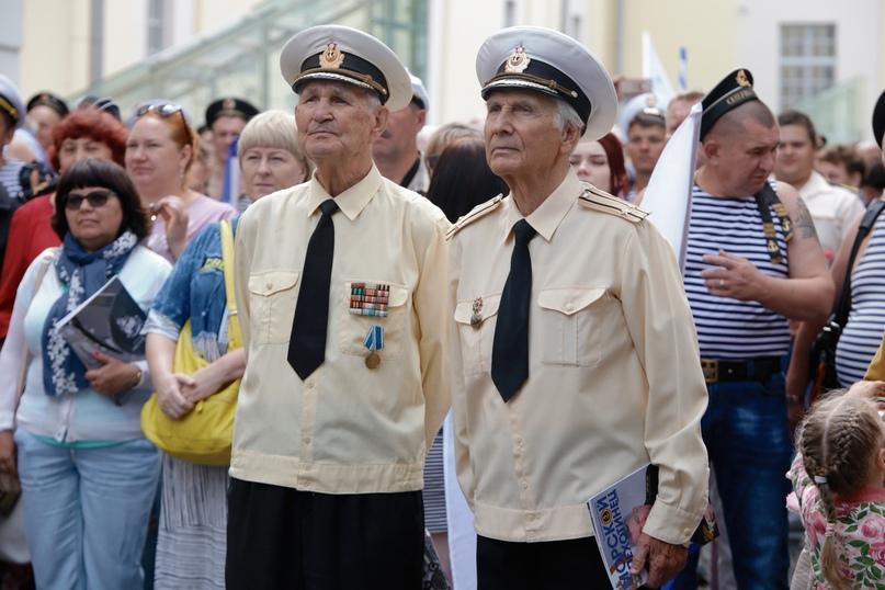В Нижнем Новгороде состоялось празднование Дня военно-морского флота