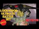 Mattel Jurassic World Lockwood Ultimate Battle Set Review Indoraptor Blue
