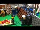 Лего самоделка6 Зомби апокалипсис блокпост
