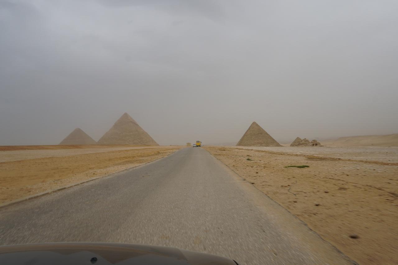 Самостоятельно по Египту на машине