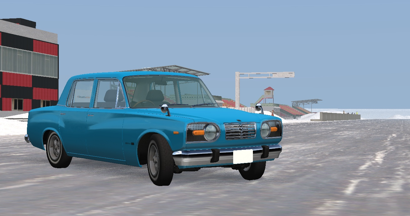 Red Ring - Winter Edition   BeamNG