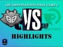 G2 vs OG Highlights Game 2 LEC Spring 2019 Playoffs finals G2 Esports vs Origen