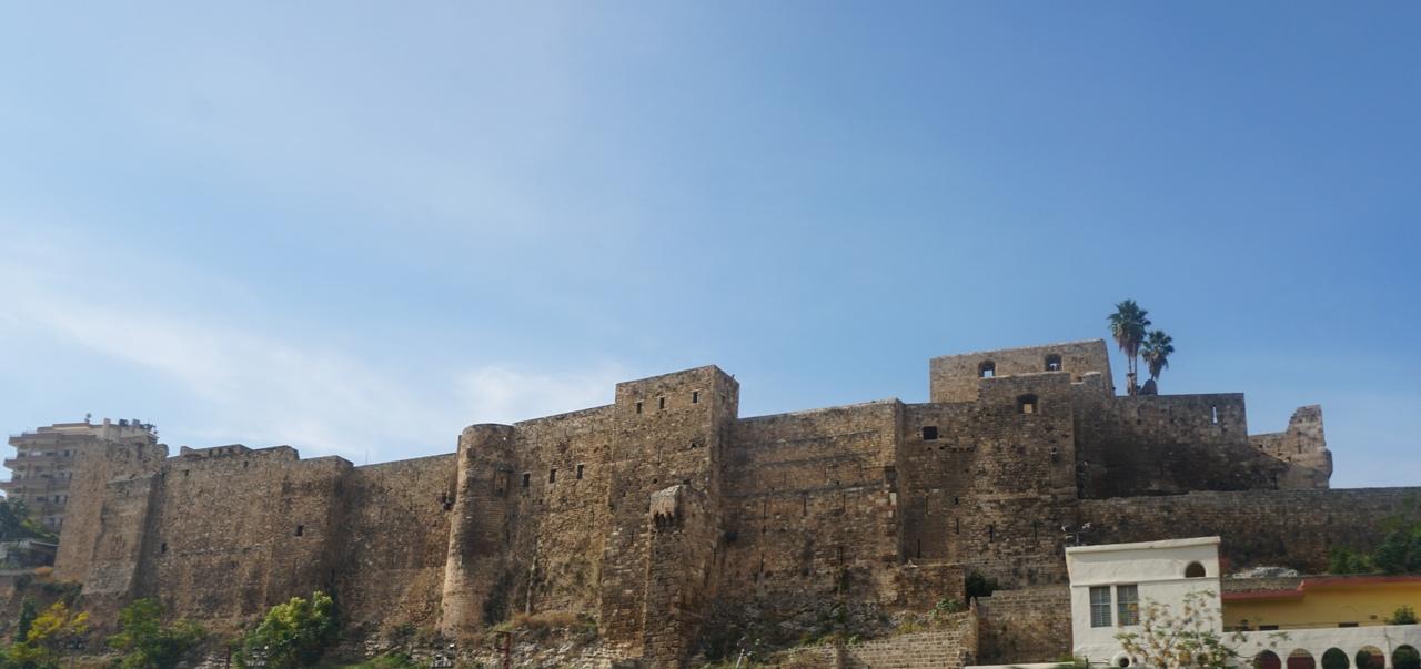 Мон-Перелин - цитадель Триполи