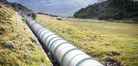 Приводы клапанов можно найти в нефтепроводах.