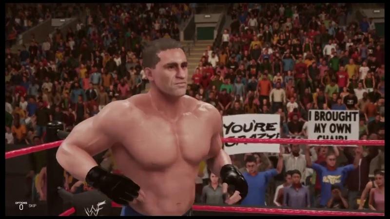 WWE 2K19 Ken Shamrock vs Al Snow Survivor Series '98