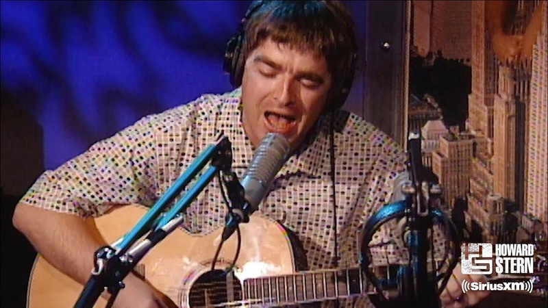 """Noel Gallagher """"Don't Look Back in Anger"""" (Acoustic) on the Howard Stern Show in 1997"""