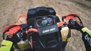 Riding on BRP Can-Am Outlander XMR 1000R