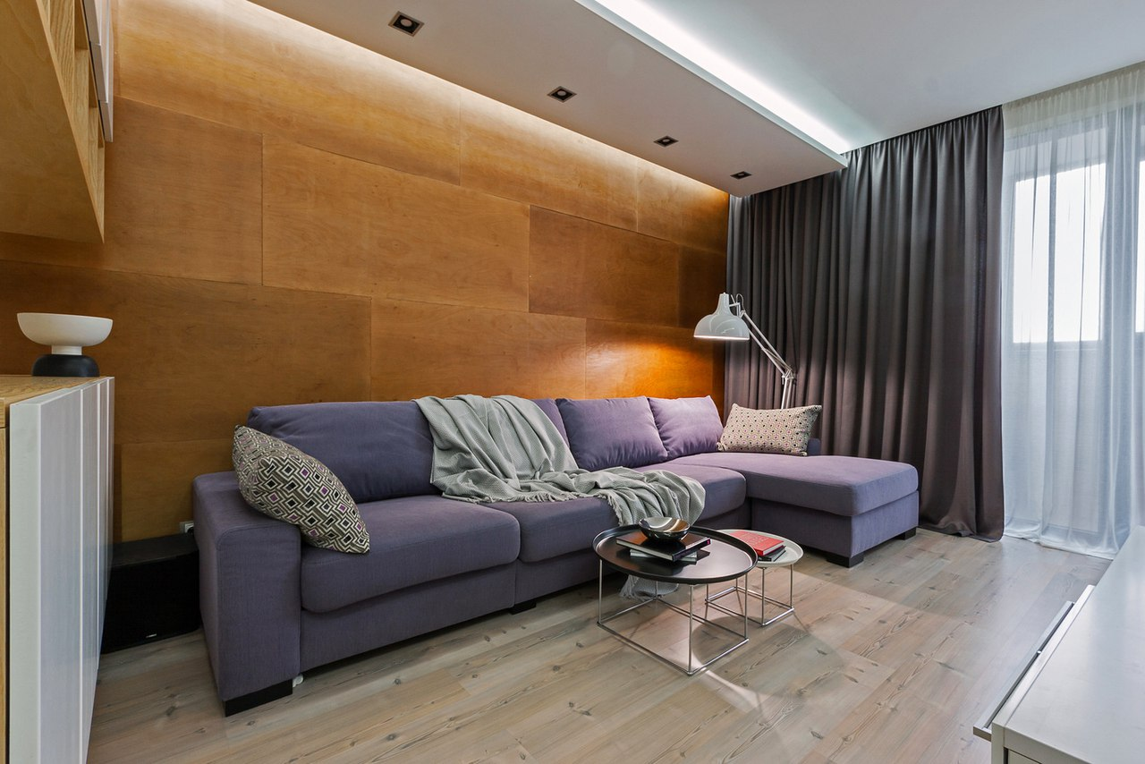 Квартира с открытым пространство