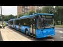 Закрытие участка Кунцевская - Киевская. Поездка на автобусе КМ1.