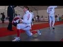 Fencing Action from Modern Pentathlon World Championships