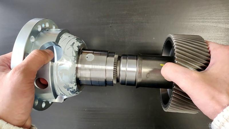 Ремонт полного привода на автомобилях Hyundai IX55 Mazda CX7,CX9 чашка дифференциала ремонт раздатки