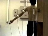 Measuring shoulder abduction