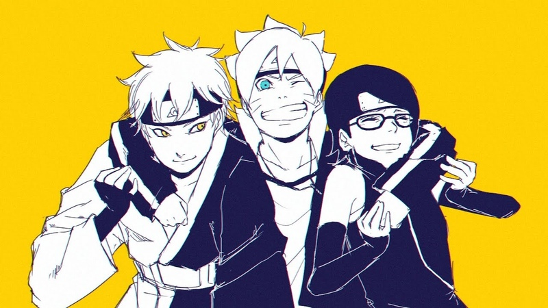 Boruto Naruto Next Generations Opening 5 Full『Golden Time』by Fujifabric