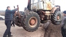 Unusual mechanisms of tractor and bulldozer