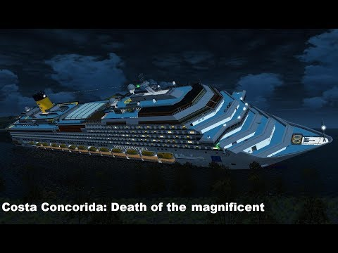 M.S. Costa Concordia: Death of the magnificent