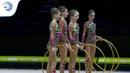 Russia - 2019 Rhythmic Gymnastics Junior European Champions, 5 hoops