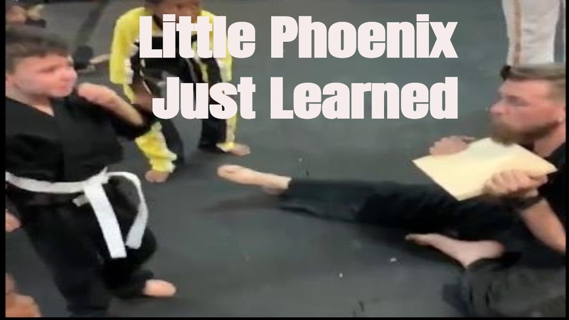 Despite The Fear And Tear, Little Phoenix Just Learned