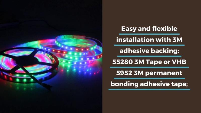 Programmable LED Strip | Felxible WS2818 Programmable LED Strip
