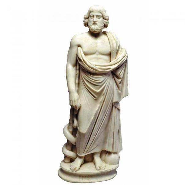 АСКЛЕПИЙ. Асклепий бог медицины в древнегреческой мифологии. Древние римляне бога врачевания называли Эскулапом. Есть основания полагать, что речь идет о реальном человеке, жившем в древности и