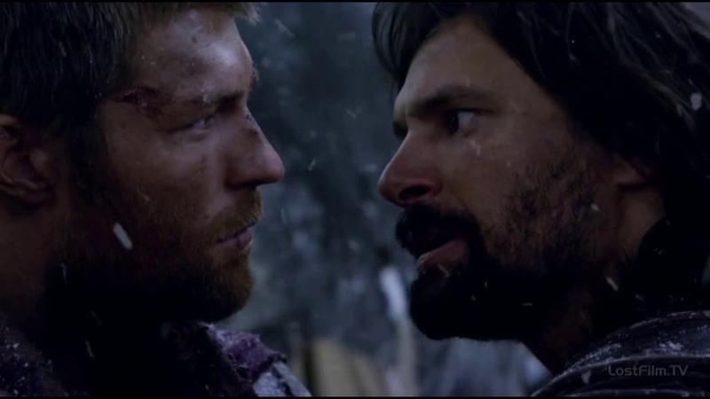 Драка Крикса и Спартака