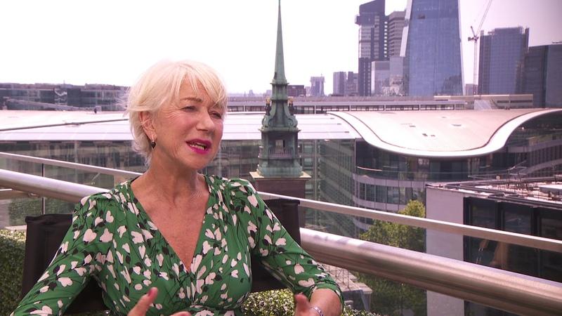 Fast Furious Presents Hobbs Shaw Helen Mirren London Junket Interview