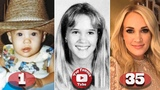 Carrie Underwood Transformation From 1 To 35 Years Old