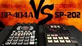 PITCH FX Roland SP-404A Vs Boss SP-202 Tutorial Comparison Lo-Fi Hip Hop