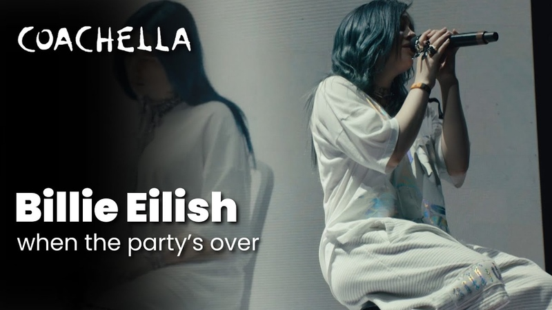 Billie Eilish – when the party's over - Live at Coachella 2019 Saturday April 13, 2019