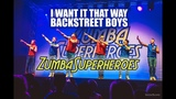 Zumba Superheroes 2017 - I Want It That Way - show choreo