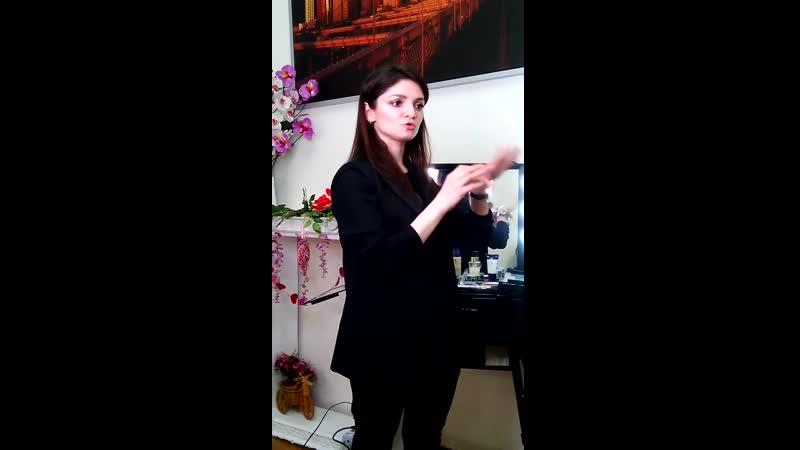 Шела Эфендиева Мастер класс по макияжу Oriflame 22 03 19