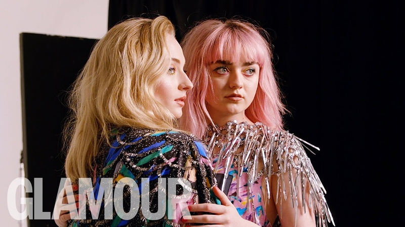 Sophie Turner Maisie Williams Dating Advice: It's not what you have, it's how you use it!
