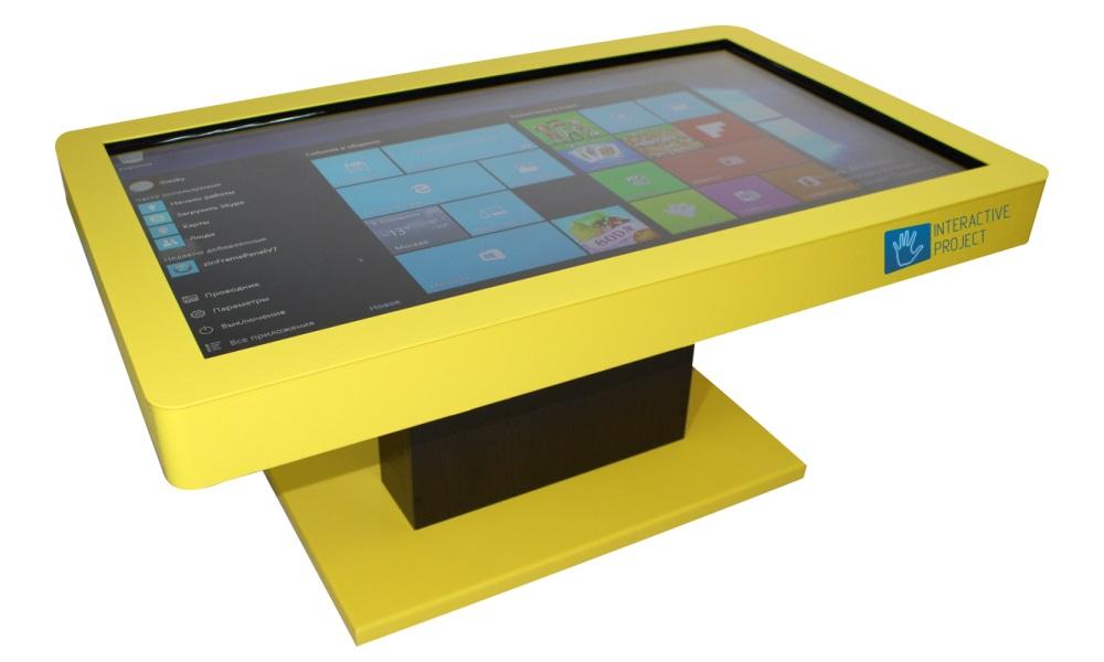 Интерактивные столы активно применяются в образовательном процессе